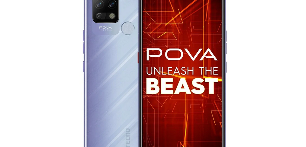 Tecno launches 'POVA' cell phone with 6000mAh battery in India: Price, features, details