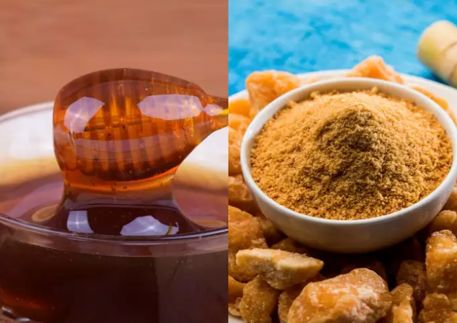 Honey vs. jaggery: Which one is good for weight loss?