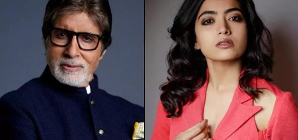 Rashmika Mandanna signed her second Bollywood film, will star alongside by BIg B Amitabh Bachchan