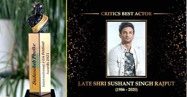 Dadasaheb Phalke International Film Festival Awards: Akshay Kumar wins for Laxmii and Sushant Singh Rajput honoured posthumously